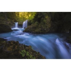 Posterazzi DPI12281503 Spirit Falls - Washington United States of America Poster Print - 19 x 12 in.