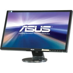 ASUS VE248H 24' Full HD 1920 x 1080 2ms (GTG) D-Sub, DVI, HDMI Built-in Speakers Asus Eye Care with Ultra Low-Blue Light & Flicker-Free LED.