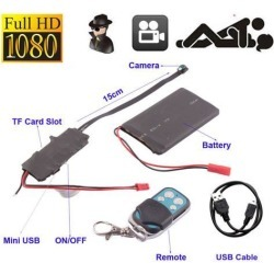 HD DIY Module Spy Hidden HD 1080P Digital Video Camera DV DVR Motion Remote Control