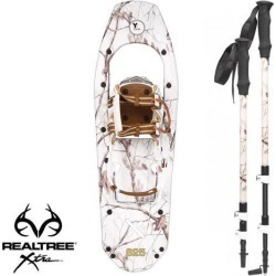 Yukon Charlie's REALTREE Xtra Molded Snowshoes(up to 200lbs) Snow Camo w/poles found on Bargain Bro Philippines from Newegg Canada for $157.56
