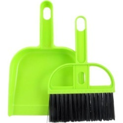 Unique Bargains Green Black Plastic PC Keyboard Fan Cleaning Brush Dustpan Set found on Bargain Bro India from Newegg Canada for $9.09