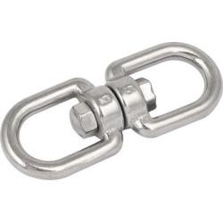 M5 304 Stainless Steel Eye to eye Swivel Eye Hook Shackle Connector