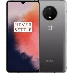 OnePlus 7T Dual-SIM 128GB/8GB RAM (GSM, CDMA) Factory Unlocked 4G/LTE Android Smartphone - Frosted Silver