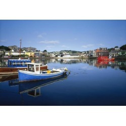 Posterazzi DPI1809676 Kinsale Co Cork Ireland - Boats in The Water in a Town Poster Print by The Irish Image Collection, 18 x 12 found on Bargain Bro Philippines from Newegg Canada for $34.63