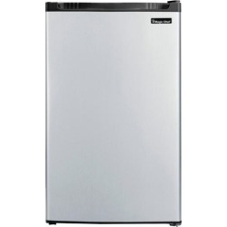 Magic Chef MCBR440S2 4.4 Cu Ft Refrigerator Push Defrost, Stainless VCM found on Bargain Bro India from Newegg for $209.99