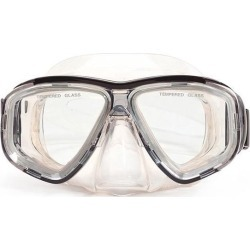 6.25' Malibu Black and Clear Pro Mask Swimming Pool Accessory for Adults