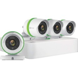 EZVIZ Q454 5MP TVI Surveillance System - 4 Channel 5MP DVR with 4 Weatherproof 5MP TVI Bullet Cameras and Pre-Installed 1TB Hard Drive found on Bargain Bro India from Newegg for $169.99