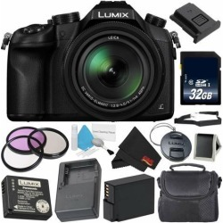 Panasonic Lumix DMC-FZ1000 Digital Camera 4K Point & Shoot Camera Deluxe Combo