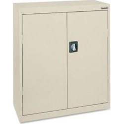 Lorell Steel Storage Cabinets 36'x18'x42' Putty 41304