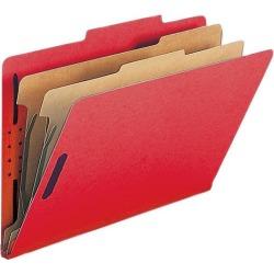 Nature Saver Classification Folders w/ Fstnrs 2 Dvdrs Legal 10/BX BRD SP17225