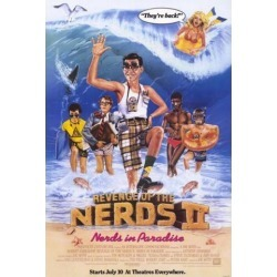 Posterazzi MOVEF7379 Revenge of the Nerds 2-Nerds in Paradise Movie Poster - 27 x 40 in.