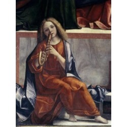 Posterazzi SAL3804327242 Child with Wind Instrument Detail From the Presentation of Jesus in the Temple 1510 Vittore Carpaccio Poster Print - 18 x. found on Bargain Bro Philippines from Newegg Canada for $53.76