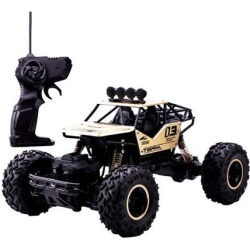 1pc 1:16 RC Alloy Climbing Car 15km/h w/ Battery RC Toy Gifts for Adults golden