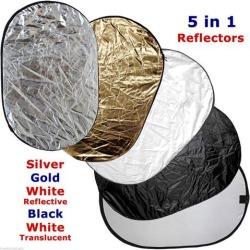 Collapsible Multi Lighting Reflector 40X60' 5-n-1 Photo Studio Photography New!
