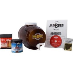 Mr. Beer Deluxe Edition Home Brew Beer Kit 20290