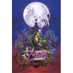 Posterazzi PYRPAS0733 Zelda - Majoras Mask Poster Print - 24 x 36 in. found on Bargain Bro Philippines from Newegg Canada for $34.02