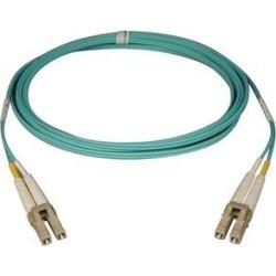 Tripp Lite N820-25M 10Gb Duplex Multimode 50/125 OM3 LSZH Fiber Patch Cable, (LC/LC) - Aqua, 25M (82-ft.)