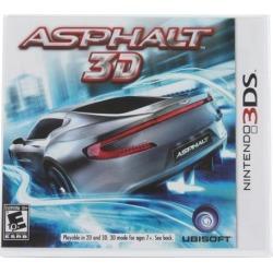 Asphalt 3D Nintendo 3DS Video Games