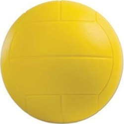Champion Sport VFC Coated Foam Sport Ball, Volleyball, Yellow