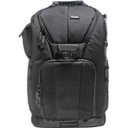 "Vivitar Series One Digital SLR Camera/Laptop Sling Backpack - Medium (Black) Holds Most 15.4"" Laptops"