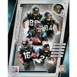 Posterazzi PFSAARJ20401 Jacksonville Jaguars 2014 Team Composite Sports Photo - 8 x 10 in.