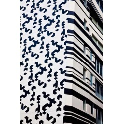 Close up of Building, Hong Kong, China Poster Print by Julie Eggers DanitaDelimont (25 x 38)