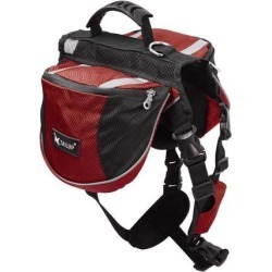 TAILUP Authorized Dog Pet Mesh Backpack Adjustable Carrier Saddle Bag for Outdoor Picnic Travel Hiking Camping Burgundy M found on Bargain Bro Philippines from Newegg Canada for $30.79