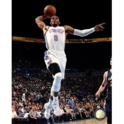 Posterazzi PFSAARM09601 Russell Westbrook 2014-2015 Action Sports Photo - 8 x 10 in.