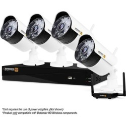 Defender Wireless HD 1080p 4 Channel 1TB DVR Security System with Smart Adaptive Wireless Technology & 4 Bullet Cameras found on Bargain Bro India from Newegg for $419.99