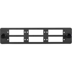 Monoprice LGX Fiber Adapter Panel Made From 16 Gauge Cold Rolled Steel, Easy to Install, Use with Blank Panels