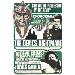 Posterazzi MOVGF5187 The Devils Nightmare the Devils Garden Combo Movie Poster - 27 x 40 in. found on Bargain Bro India from Newegg Canada for $45.52