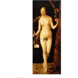 Posterazzi BALXIR38689LARGE Eve 1507 Poster Print by Albrecht Durer - 24 x 36 in. - Large found on Bargain Bro Philippines from Newegg Canada for $86.13