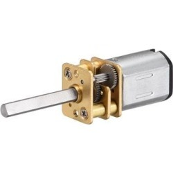 Micro Gear Motor DC 3V 480RPM Metal Gearbox Electric Speed Reduction Motor w 2 Terminals for DIY RC Toys