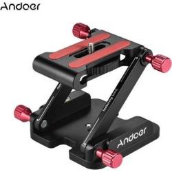 Andoer Z Flex Tilt Folding QuickRelease Plate Camera Ball Head Stand Holder E5H3