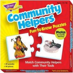 Community Helpers - Puzzles