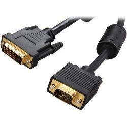 Rosewill RCDV-11008 Black DVI-I Male to VGA Male Male to Male DVI-I Male to VGA Male Cable