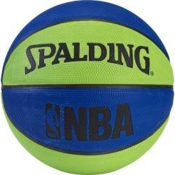 Spalding NBA Mini Basketball - Blue/Green