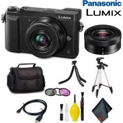 Panasonic Lumix DMC-GX85 Mirrorless Micro Four Thirds Digital Camera with 12-32mm Lens (Black) Standard Bundle