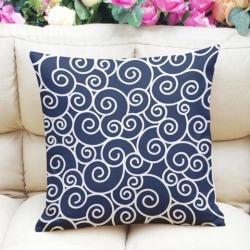 45x45cm Linen Cotton Pillow Case Sofa Cushion Cover Universal Home Decor #3