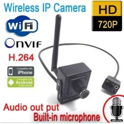 Wireless Wifi 720P 1.0MP Security CCTV IP Camera Mini Spy P2P Onvif 3.7mm Pinhole Len surveillance system
