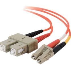 C2G LC/SC Duplex 50/125 Multimode Fiber Patch Cable