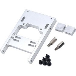 1 Set Metal Servo Warehouse with Screws for RC WPL Military Truck Sliver