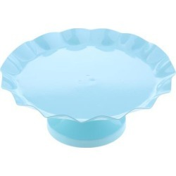 Cake Pan Dessert Table Iron Cake Stand Blue M
