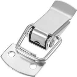 Stainless Steel Spring Loaded Toggle Latch Catch Clamp, 49mm Overall Length