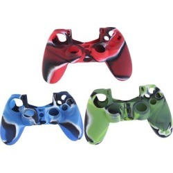 Camouflage Silicone Case Skin Grip Cover For Playstation 4 PS4 Controller