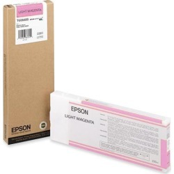 EPSON T606600 220 ml UltraChrome Ink Cartridge Vivid Light Magenta