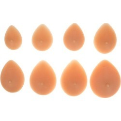 Breast Forms Silicone Breast Silicone Forms Mastectomy Enhancers #3/13.5 x 10 x 4 cm/00g
