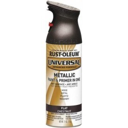 RUST-OLEUM 271471 Spray Paint, Chestnut, Flat,11 oz.