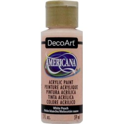 Americana Acrylic Paint 2 Ounces-Flesh/Semi-Opaque