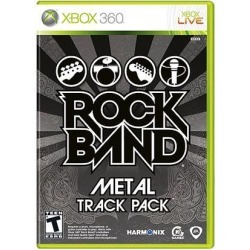 Rock Band: Metal Track Pack Xbox 360 Game